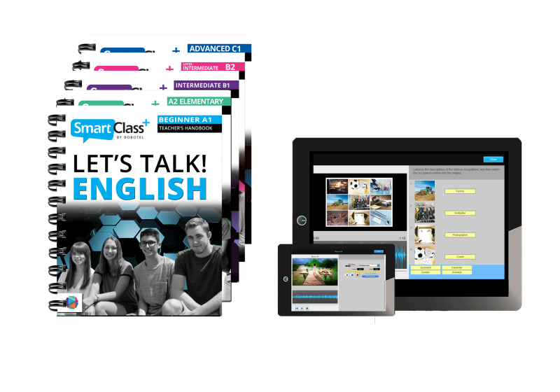 "Edukacinė platforma ""Let's Talk English"""