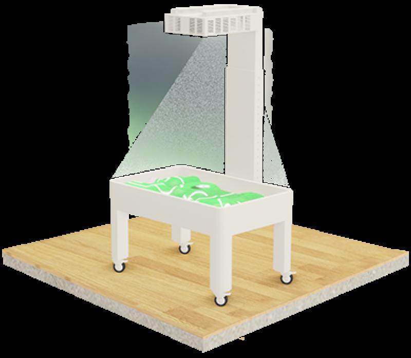 """Mobili, interaktyvi smėlio dėžė """"STANDARD"""""""