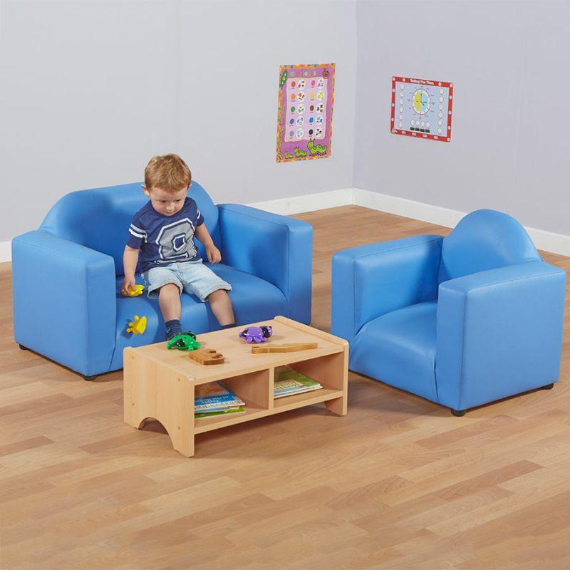 Vaikiškų minkštų baldų komplektas