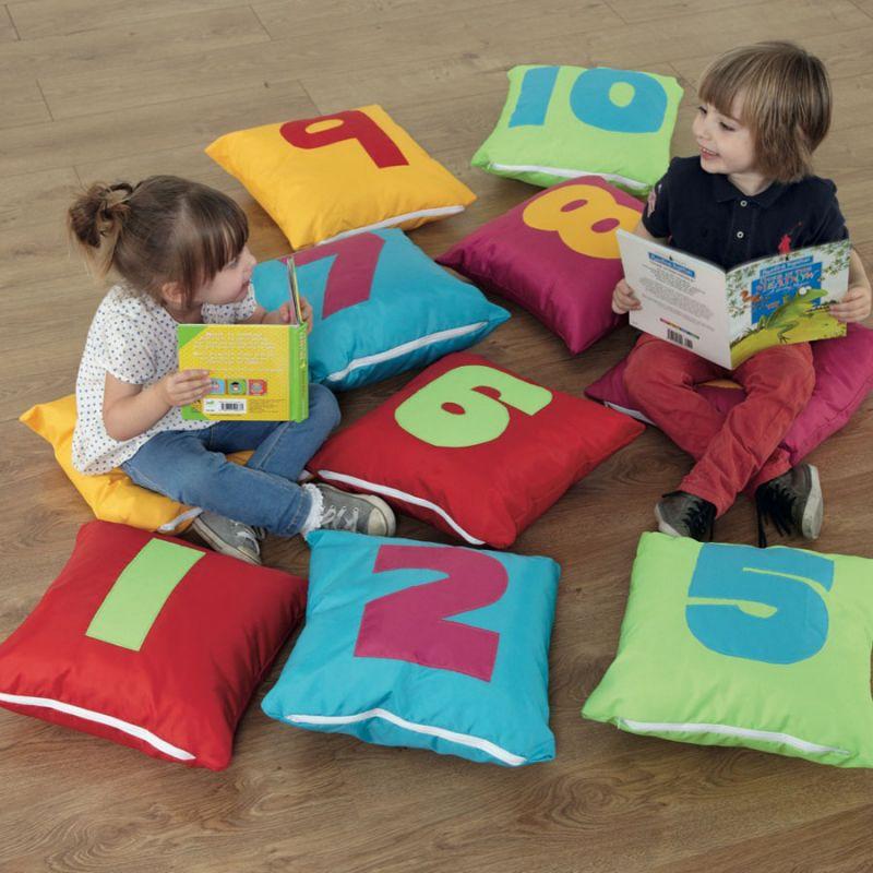 Skaičių pagalvėlės (1-10)