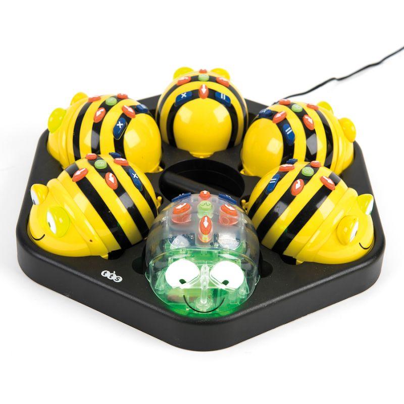 "Robotų ""Bee-bot"" ir ""Blue-bot"" komplektas"