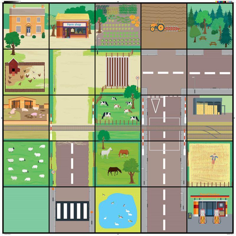 Miestelio kilimėlis