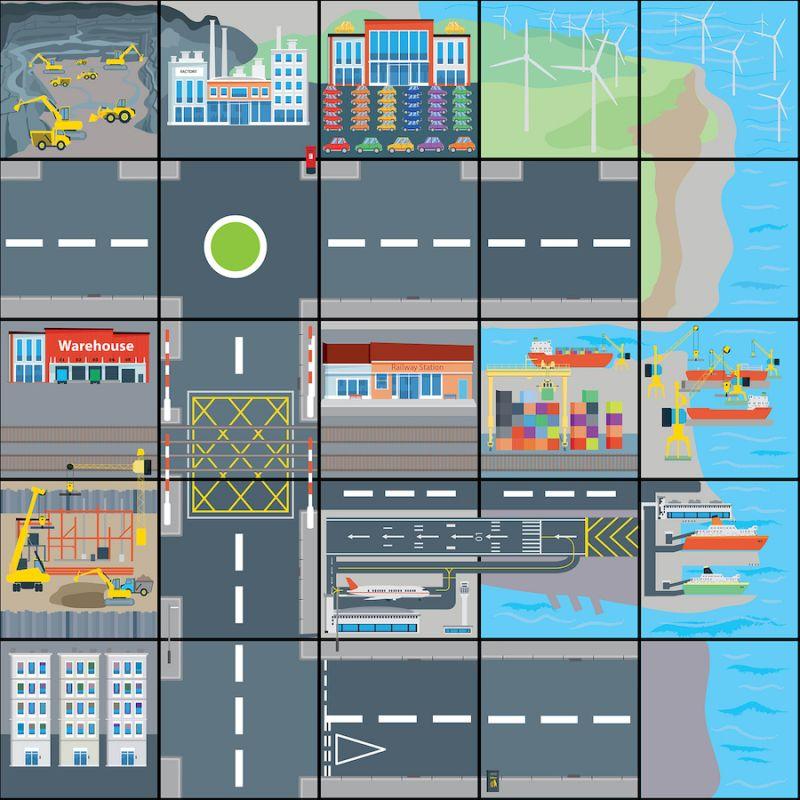 Transporto kilimėlis
