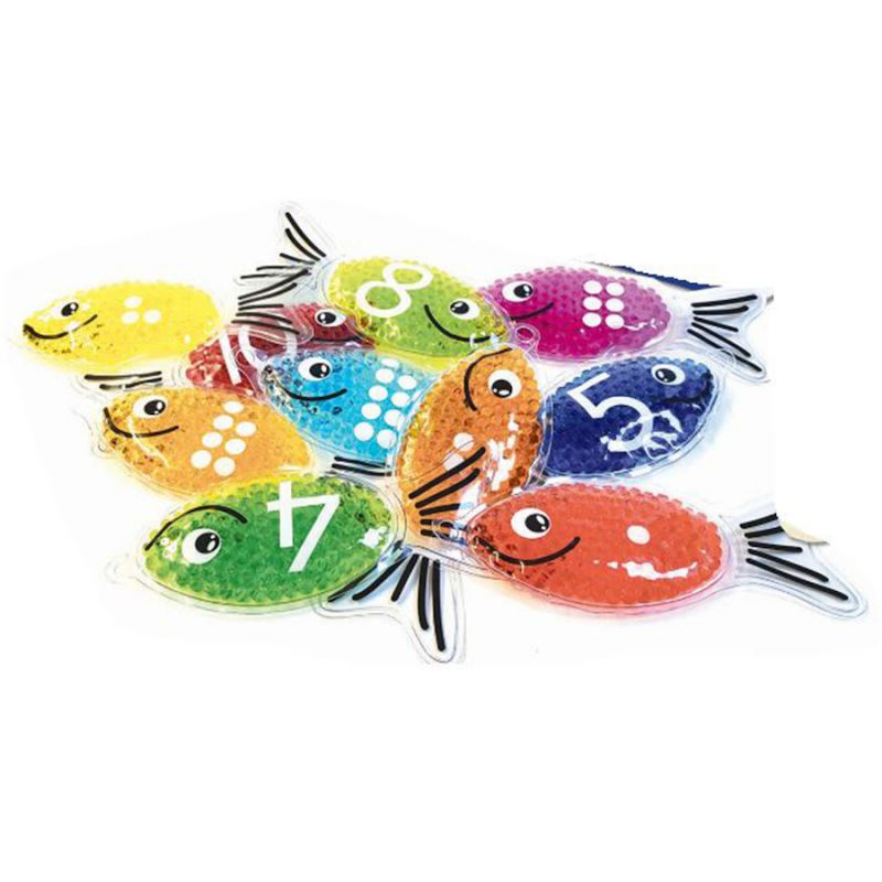 Sensorinių, skaičiavimo žuvyčių rinkinys