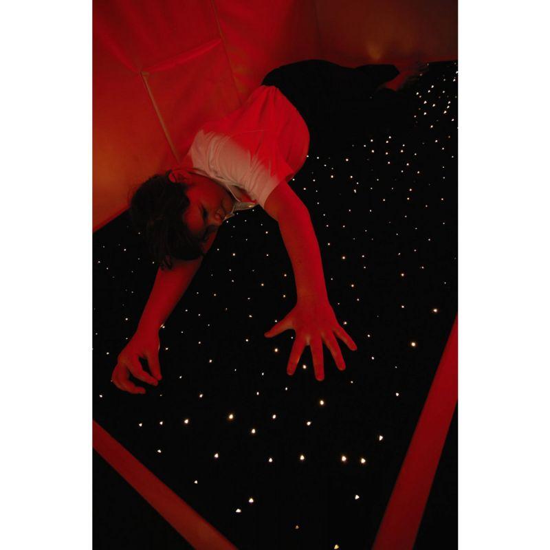Šviesos pluoštelių kilimėlis