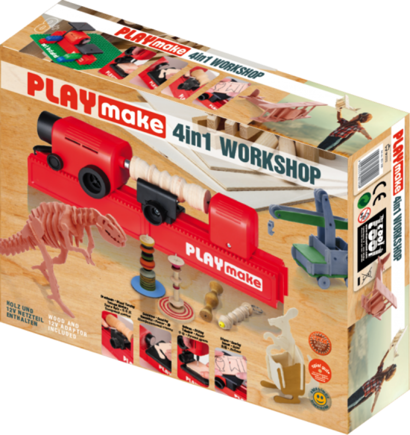 """Staklės """"PLAYmake 4in1"""""""