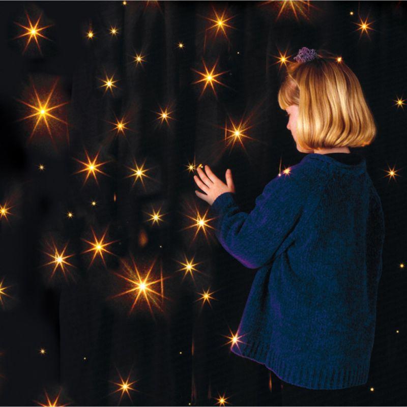 Užuolaida su žvaigždėmis
