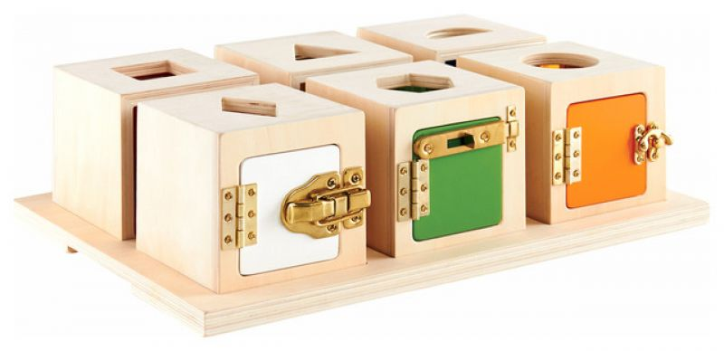 Lavinamosios rakinamos dėžutės