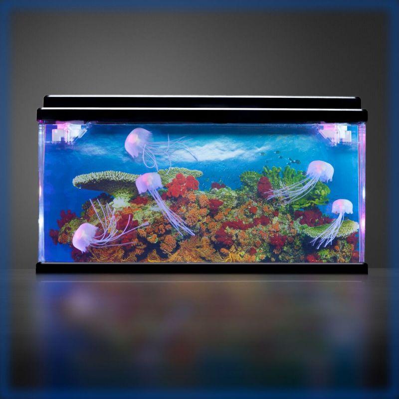 Didysis akvariumas su medūzomis