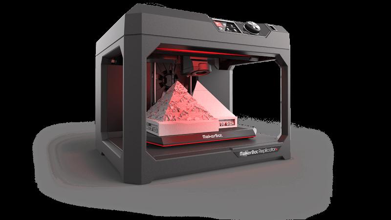 "3D Spausdintuvas Makerbot ""Replicator +"""