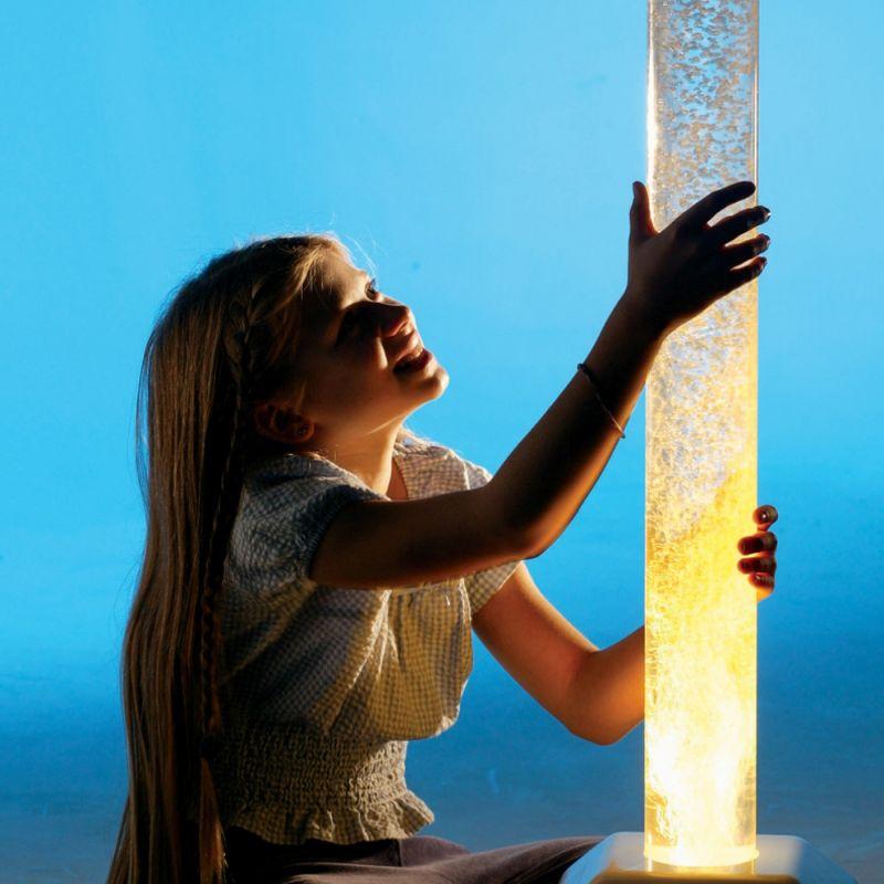 Mobilus burbulų vamzdis su karoliukais