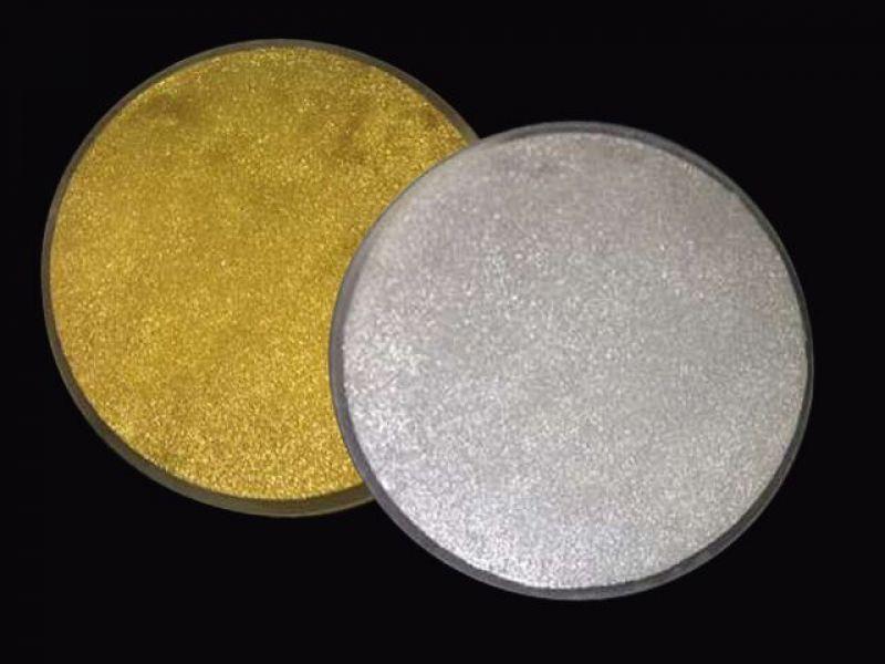 Auksinių grindų plytelių komplektas (apvalios)