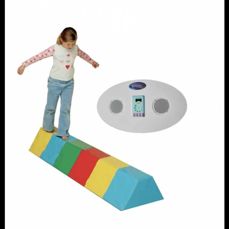 Balansavimo platforma su garso sistema