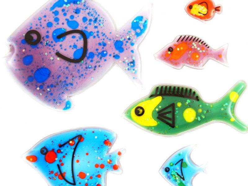Silikoninės žuvys
