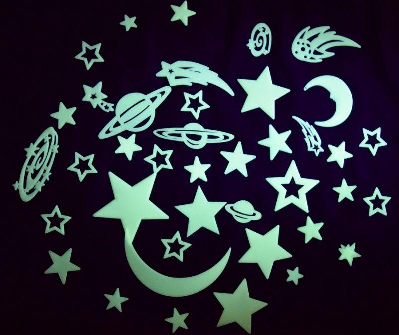 Žvaigždžių ir planetų rinkinys (43 vnt.)