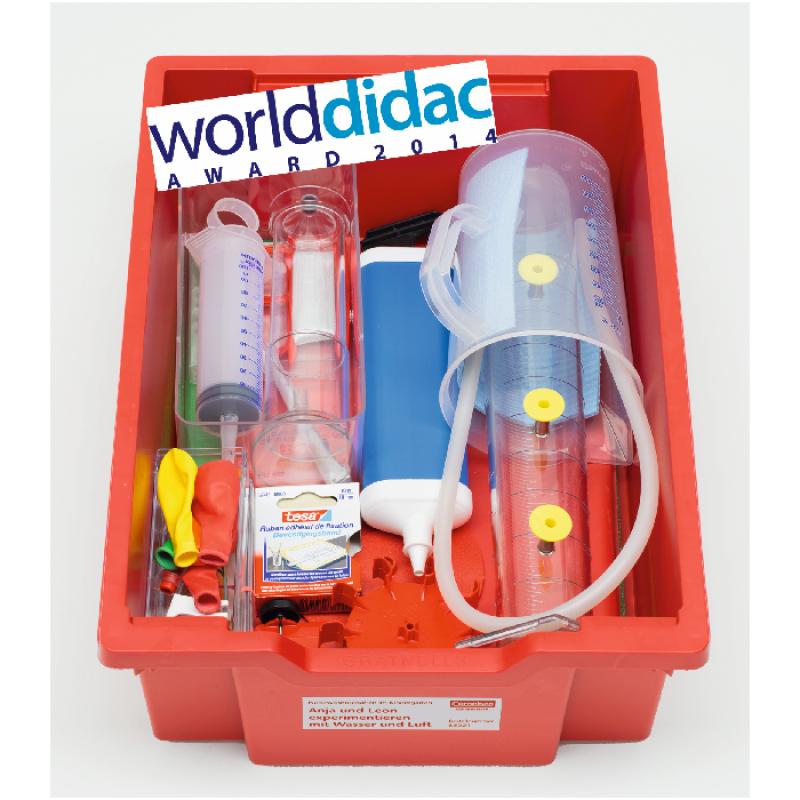 Vandens ir oro eksperimentų rinkinys 4-7 metų amžiaus vaikams